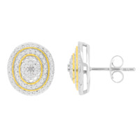 LYRIDÉA Boucles d'oreilles Tourbillon de Diamants